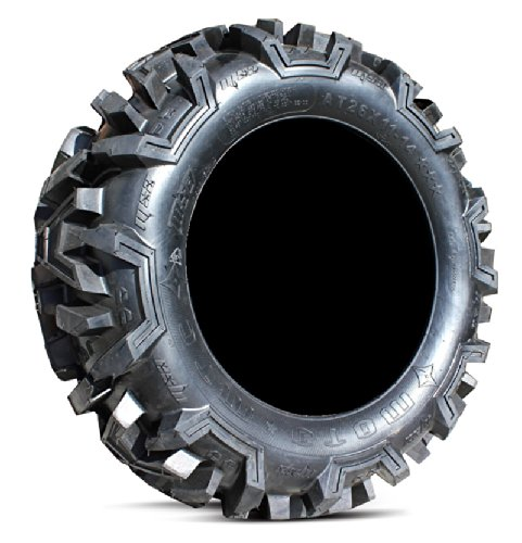 Bundle-9-Items-MSA-Black-Diesel-14-ATV-Wheels-28-EFX-Moto-MTC-Tires-4×156-Bolt-Pattern-12mmx15-Lug-Kit-0-1