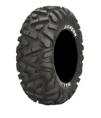 Bundle-9-Items-MSA-Black-Elixir-14-ATV-Wheels-26-BigHorn-Tires-4×156-Bolt-Pattern-38×24-Lug-Kit-0-0