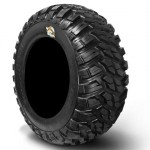 Bundle-9-Items-MSA-Black-Kore-14-ATV-Wheels-28-Kanati-Mongrel-Tires-4×156-Bolt-Pattern-12mmx15-Lug-Kit-0-0