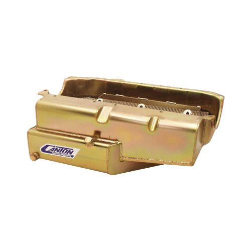 Canton-Racing-Products-11-187-Small-Block-Circle-Track-Open-Chassis-Pro-Style-Power-Oil-Pan-with-Oil-Recovery-Pouch-0