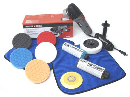 Chemical-Guys-BUF209-Porter-Cable-7424XP-Detailing-Complete-Detailing-Kit-with-Pads-Backing-Plate-and-Accessories-13-Items-0-0
