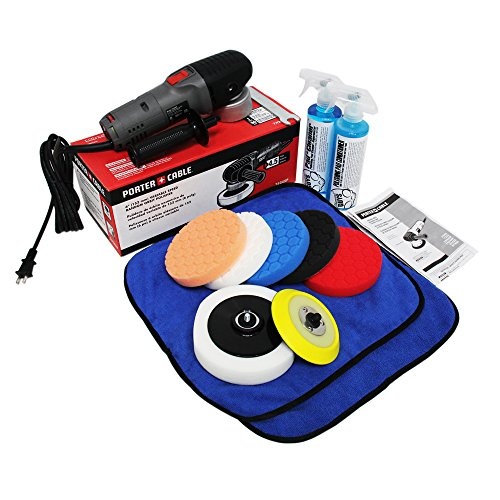 Chemical-Guys-BUF209-Porter-Cable-7424XP-Detailing-Complete-Detailing-Kit-with-Pads-Backing-Plate-and-Accessories-13-Items-0