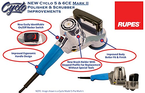Cyclo-Toolmakers-80-112C-PG-Model-5-Pro-Mark-II-Dual-Head-Orbital-Polisher-with-Backing-Plate-0-1