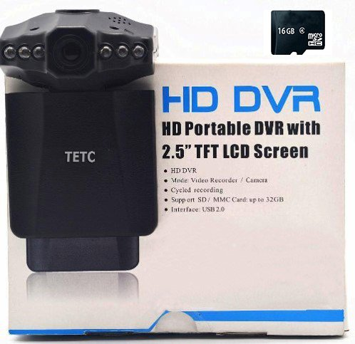 DFTECH-8GB-SDcard-GENUINE-1080-P25-inch-HD-Car-LED-IR-Vehicle-DVR-Road-Dash-Video-Camera-Recorder-Traffic-Dashboard-Camcorder-LCD-270-degrees-0