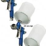 DeVILBISS-DeKUPS-34-oz-STARTER-KIT-HVLP-Spray-Paint-Gun-0-0
