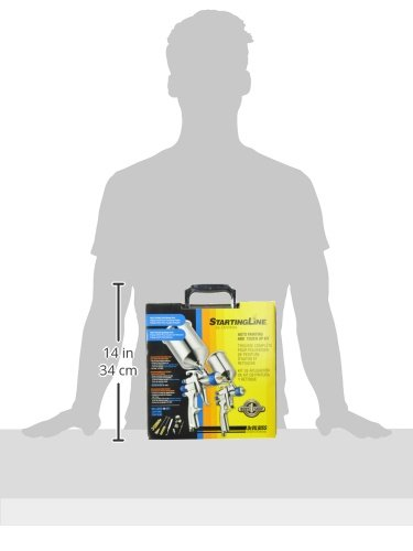 DeVilbiss-802342-StartingLine-HVLP-Gravity-Spray-Gun-Kit-0-0