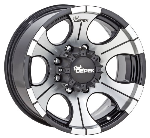 Dick-Cepek-DC-2-Gloss-Black-Wheel-with-Machined-Finish-15x105x45-0