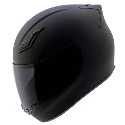 Duke-Helmets-DK-120-Full-Face-Motorcycle-Helmet-Matte-Black-0
