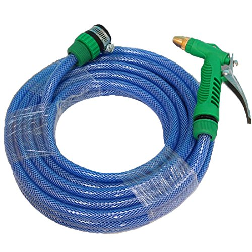 Ebestzone-Car-Accessory-Car-Wash-Kits-Set-15-Meters-Tube-Gun-Sprayer-Universal-Connector-0