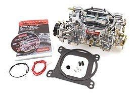 Edelbrock-1406-Performer-600-CFM-Square-Bore-4-Barrel-Air-Valve-Secondary-Electric-Choke-Carburetor-0-0