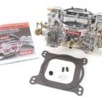 Edelbrock-1407-Performer-750-CFM-Square-Bore-4-Barrel-Air-Valve-Secondary-Manual-Choke-New-Carburetor-0-0