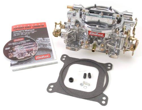 Edelbrock-1407-Performer-750-CFM-Square-Bore-4-Barrel-Air-Valve-Secondary-Manual-Choke-New-Carburetor-0