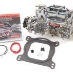 Edelbrock-1411-Performer-750-CFM-Square-Bore-4-Barrel-Air-Valve-Secondary-Electric-Choke-New-Carburetor-0-0