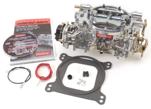 Edelbrock-1411-Performer-750-CFM-Square-Bore-4-Barrel-Air-Valve-Secondary-Electric-Choke-New-Carburetor-0