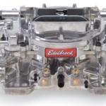 Edelbrock-1805-Thunder-Series-650-CFM-Square-Bore-4-Barrel-Manual-Choke-New-Carburetor-0