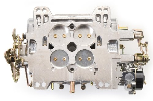 Edelbrock-9906-Performer-600-CFM-Vacuum-Secondary-Electric-Choke-Remanufactured-Carburetor-0-0
