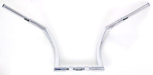 El-Diablo-Chrome-14-Rise-Universal-Ape-Hangers-1-14-Diameter-Handlebars-for-Harley-Motorcycles-0-1