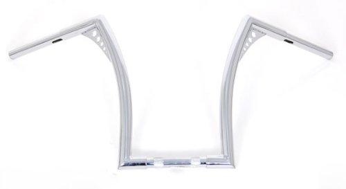 El-Diablo-Chrome-14-Rise-Universal-Ape-Hangers-1-14-Diameter-Handlebars-for-Harley-Motorcycles-0