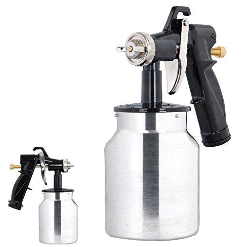 Electric-HVLP-Air-Spray-Gun-Kit-450W-Paint-Sprayer-10mm-Nozzle-DIY-Tool-1000ml-0-0