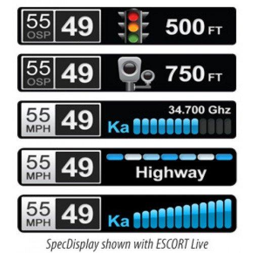 Escort-Passport-Max-HD-High-Definition-LTD-Edition-Glossy-Black-Radar-and-Laser-Detector-0-1