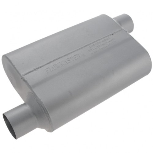 Flowmaster-42543-40-Series-Muffler-250-Offset-IN-250-Offset-OUT-Aggressive-Sound-0