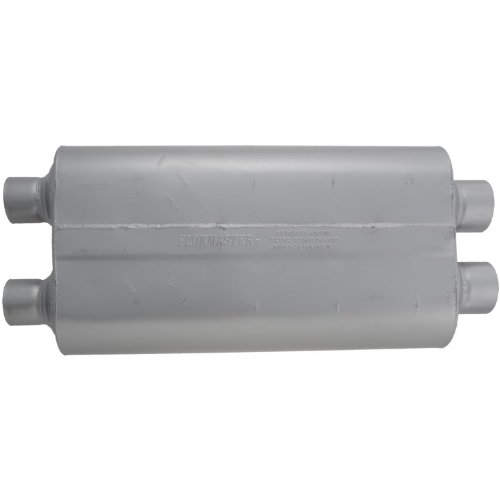Flowmaster-530504-50-Big-Block-Muffler-300-Dual-IN-250-Dual-OUT-Mild-Sound-0-0