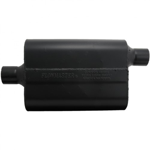 Flowmaster-942447-Super-44-Muffler-225-Center-IN-225-Offset-OUT-Aggressive-Sound-0-0