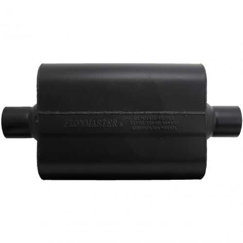 Flowmaster-942545-Super-44-Muffler-250-Center-IN-250-Center-OUT-Aggressive-Sound-0-0