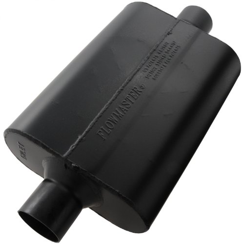 Flowmaster-942545-Super-44-Muffler-250-Center-IN-250-Center-OUT-Aggressive-Sound-0