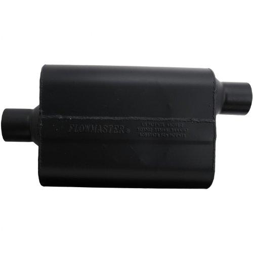 Flowmaster-942547-Super-44-Muffler-250-Center-IN-250-Offset-OUT-Aggressive-Sound-0-0