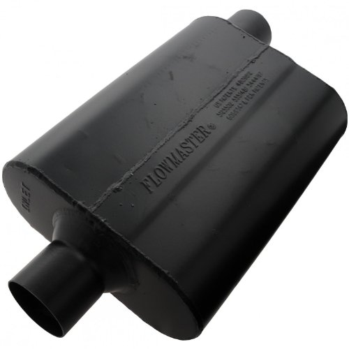 Flowmaster-942547-Super-44-Muffler-250-Center-IN-250-Offset-OUT-Aggressive-Sound-0