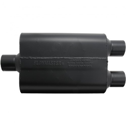 Flowmaster-9425472-Super-44-Muffler-250-Center-IN-250-Dual-OUT-Aggressive-Sound-0-0
