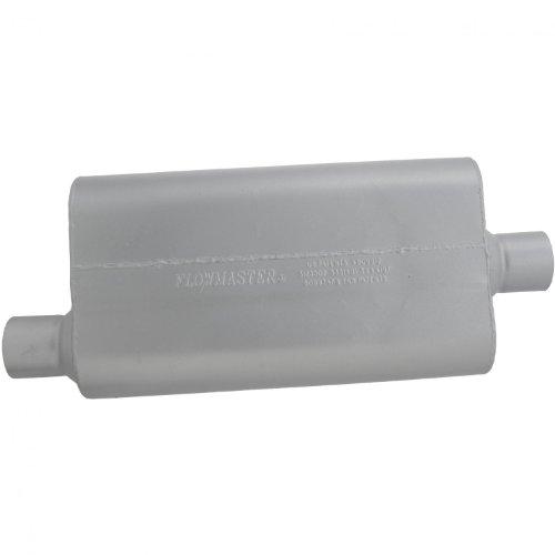 Flowmaster-942551-50-Delta-Flow-Muffler-250-Offset-IN-250-Center-OUT-Moderate-Sound-0-0