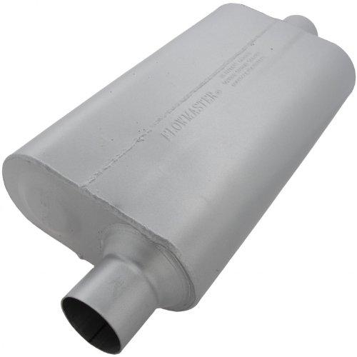 Flowmaster-942551-50-Delta-Flow-Muffler-250-Offset-IN-250-Center-OUT-Moderate-Sound-0