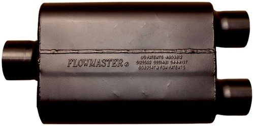 Flowmaster-9430452-Super-44-Muffler-300-Center-IN-250-Dual-OUT-Aggressive-Sound-0-0