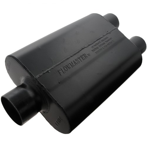 Flowmaster-9430452-Super-44-Muffler-300-Center-IN-250-Dual-OUT-Aggressive-Sound-0