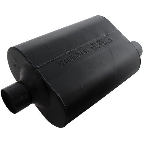 Flowmaster-952547-Super-40-Muffler-250-Center-IN-250-Offset-OUT-Aggressive-Sound-0
