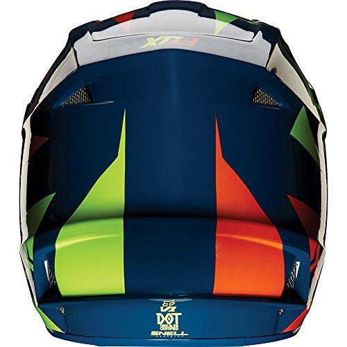 Fox-Racing-Race-Mens-V1-MotoX-Motorcycle-Helmet-NavyYellow-0-1