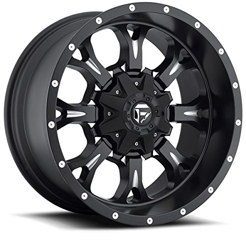 Fuel-Krank-17×9-Black-Wheel-Rim-8×170-with-a-1mm-Offset-and-a-12520-Hub-Bore-Partnumber-D51717901750-0