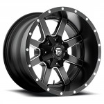 Fuel-Maverick-20-Black-Wheel-Rim-6×135-6×55-with-a-44mm-Offset-and-a-1064-Hub-Bore-Partnumber-D53820209847-0
