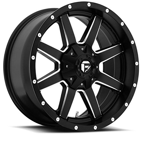 Fuel-Maverick-20-Black-Wheel-Rim-8×170-with-a-24mm-Offset-and-a-1252-Hub-Bore-Partnumber-D53820001745-0