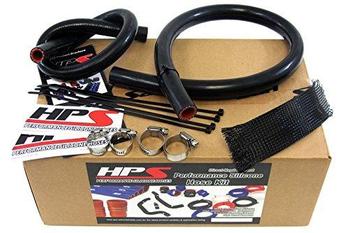 HPS-Silicone-Hoses-57-1335-BLK-Black-Silicone-Heater-Hose-Kit-Coolant-0-0