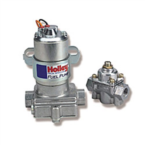 Holley-L12-802-1-Electric-Fuel-Pump-with-Regulator-110-GPH-0-0