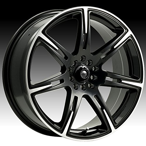 ICW-Kamikaze-17×75-Black-Wheel-Rim-5×100-5×45-with-a-42mm-Offset-and-a-7300-Hub-Bore-Partnumber-210MB-7751842-0