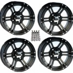 ITP-SS212-ATV-WheelsRims-Black-14-Polaris-Sportsman-RZR-Ranger-4-0