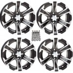 ITP-SS312-ATV-WheelsRims-Black-12-Honda-Foreman-Rancher-SRA-Solid-Axle-4-0