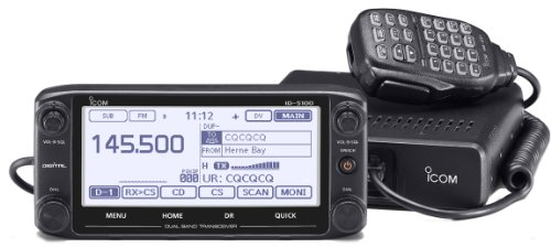 Icom-ID-5100A-DELUXE-144440-Amateur-Radio-Mobile-Transciver-with-Touch-Screen-D-Star-and-Internal-GPS-0