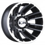 Ion-Alloy-Dually-166-Matte-Black-Wheel-with-Machined-Face-16x68x170mm-0-1