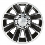 Ion-Alloy-Dually-166-Matte-Black-Wheel-with-Machined-Face-16x68x170mm-0-2