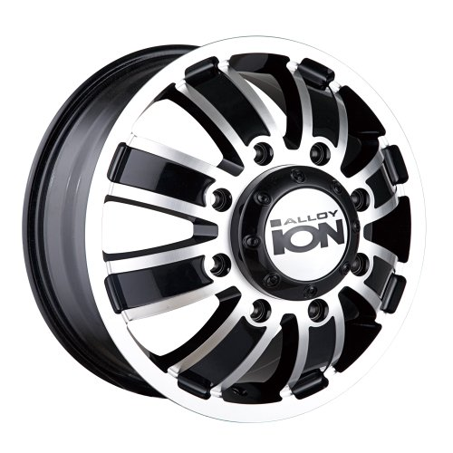 Ion-Alloy-Dually-166-Matte-Black-Wheel-with-Machined-Face-16x68x170mm-0